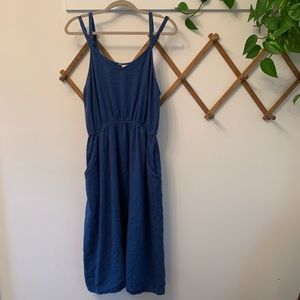Universal Thread blue Gauze midi dress XL